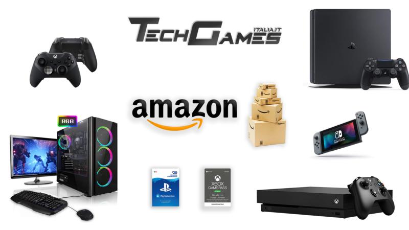 Le migliori offerte su Amazon per Videogiochi, PC e Console