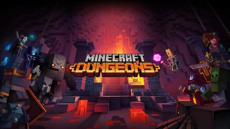 Minecraft Dungeons: il lancio è stato posticipato a Maggio