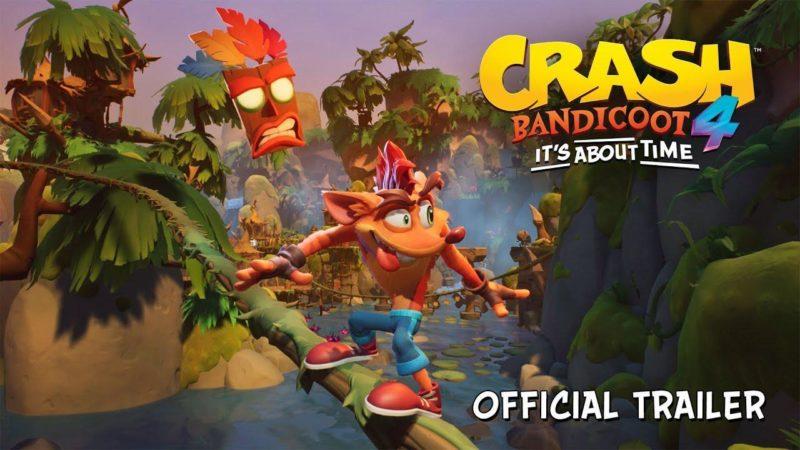 Crash Bandicoot 4: It's About Time disponibile al Pre-Order su PS4 e Xbox One