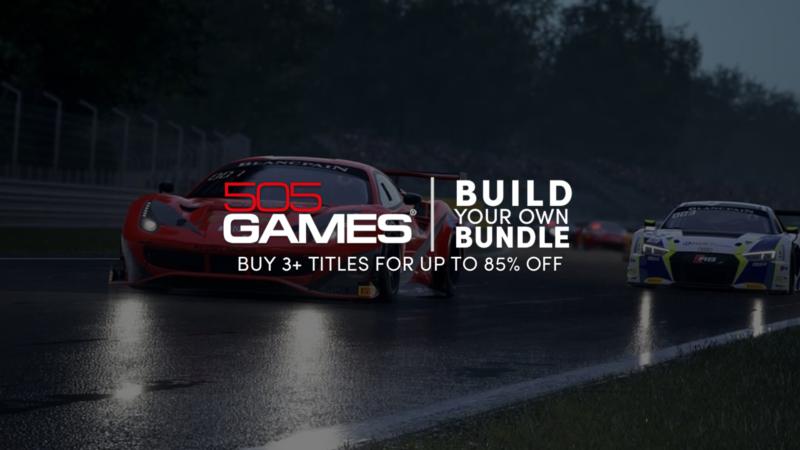 """Humble Bundle: inizia la """"505 Games Selective Bundle"""""""