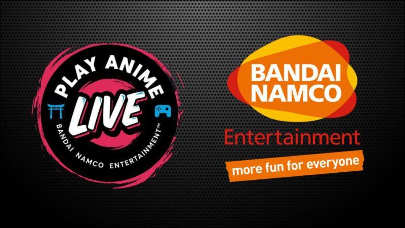 Bandai Namco: annuncia Play Anime Live