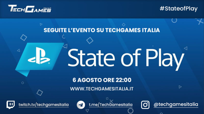 State of Play: Seguite l'evento PlayStation su TechGames Italia