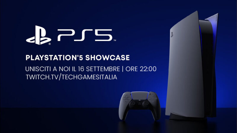 PS5 Showcase: Seguite l'evento Playstation su TechGames Italia