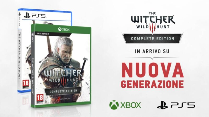 The Witcher 3: in arrivo su Xbox Series X e PS5