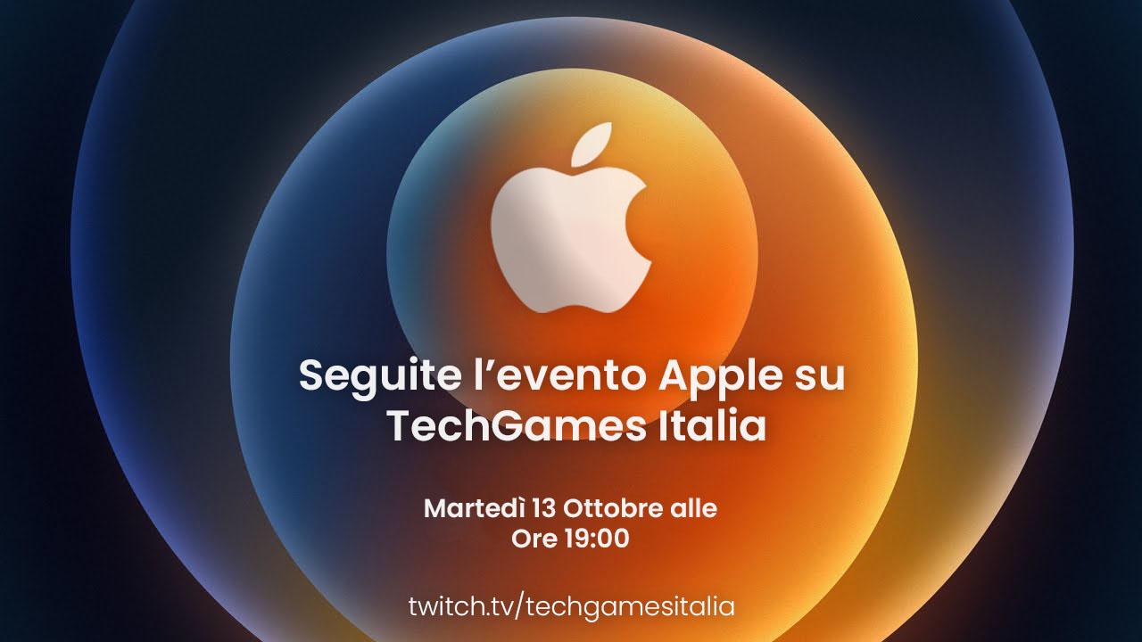 Apple Event: Seguite l'evento su TechGames Italia