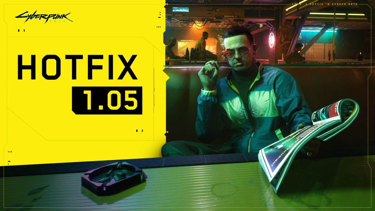 Cyberpunk 2077: arriva la Patch 1.05 su PS4 e Xbox One